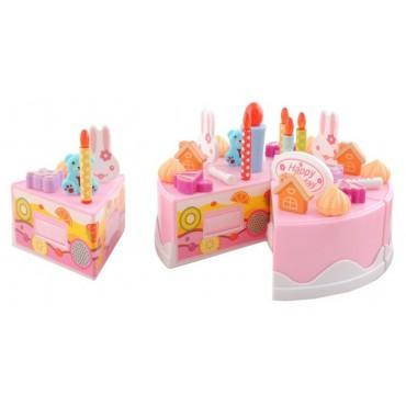 Tort urodzinowy - zestaw 75el.