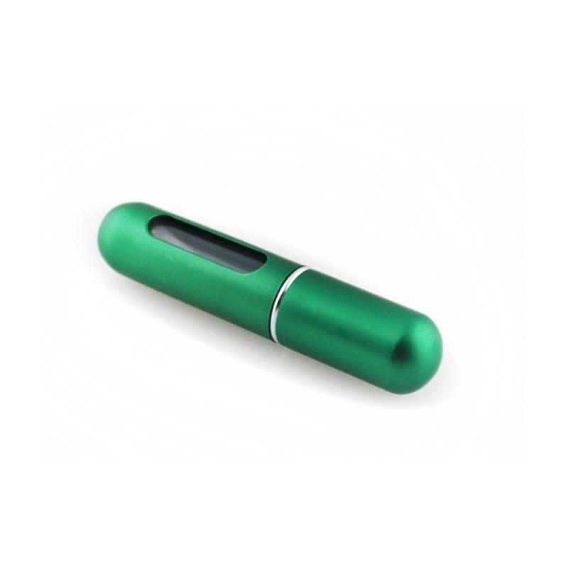 Atomizer podróżny do perfum zielony