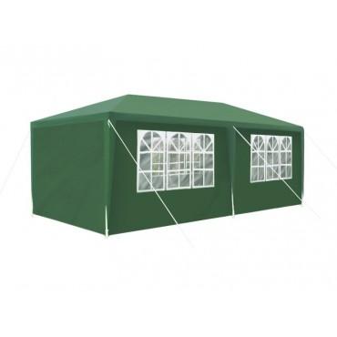 Pawilon ogrodowy 3x6m zielony P5519
