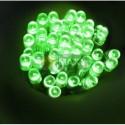 Lampki 40 LED na baterie - zielony