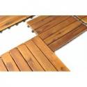 Płytki drewniane 30x30cm - zestaw 10szt