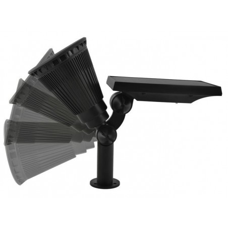 Lampa solarna z panelem słonecznym
