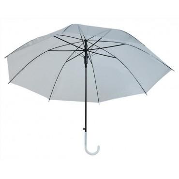 Parasolka przezroczysta biała