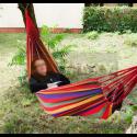 Hamak ogrodowy pojedynczy 85 x 195 cm