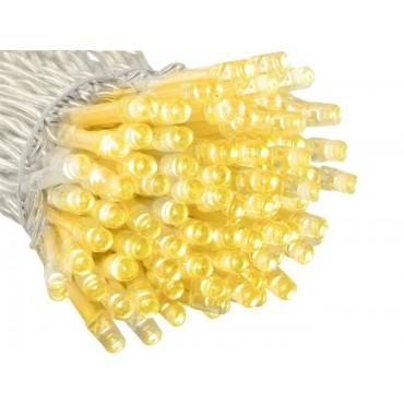 Lampki 200 LED 30V - ciepły biały