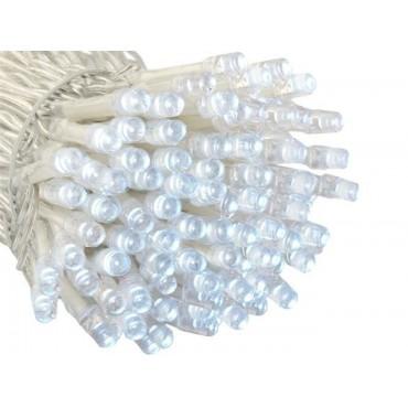 Lampki 200 LED 2w1 - zimny...