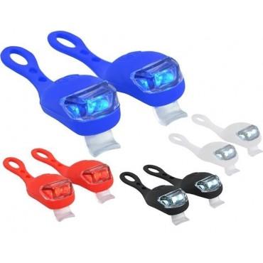 Lampki rowerowe silikonowe...