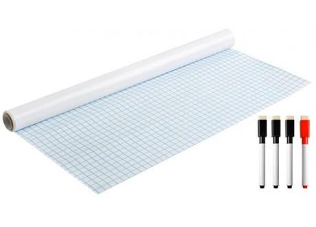 Tablica samoprzylepna biała 200x45 cm