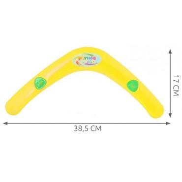 Bumerang z gwizdkiem - żółty