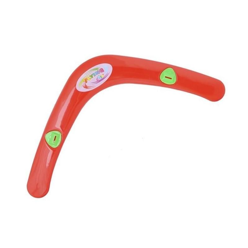 Bumerang z gwizdkiem - czerwony
