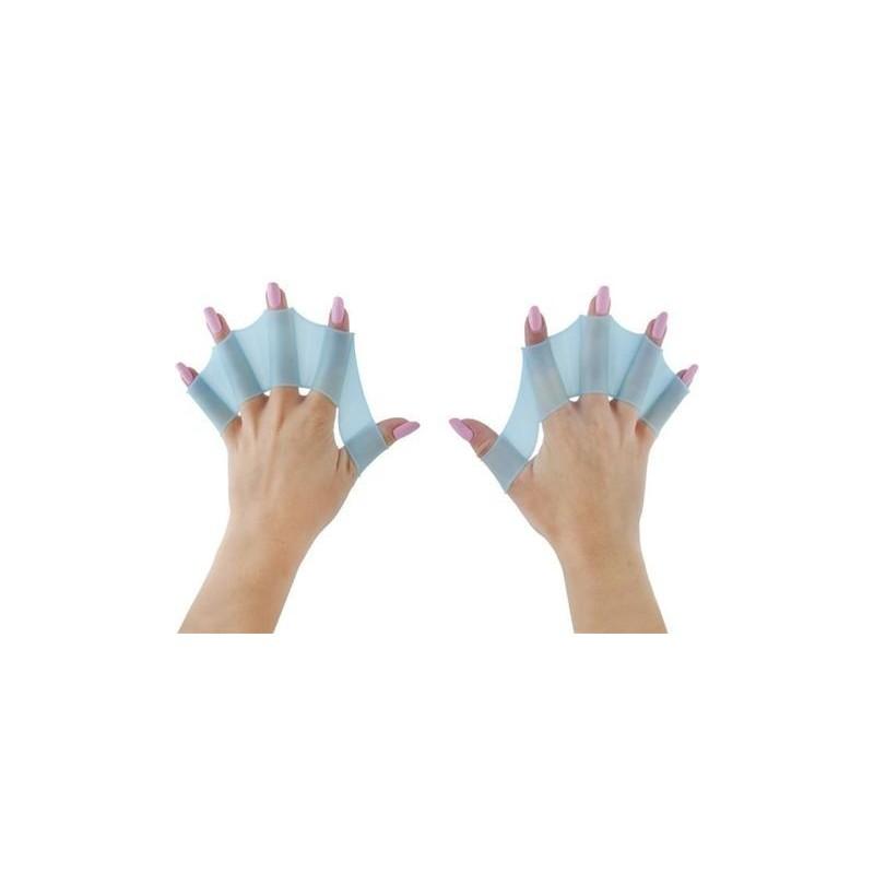 Płetwy silikonowe na dłonie - S