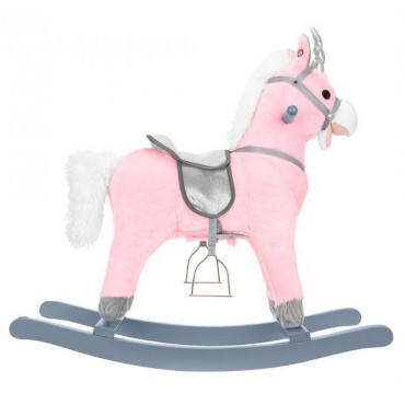 Koń na biegunach 74cm/K9337...
