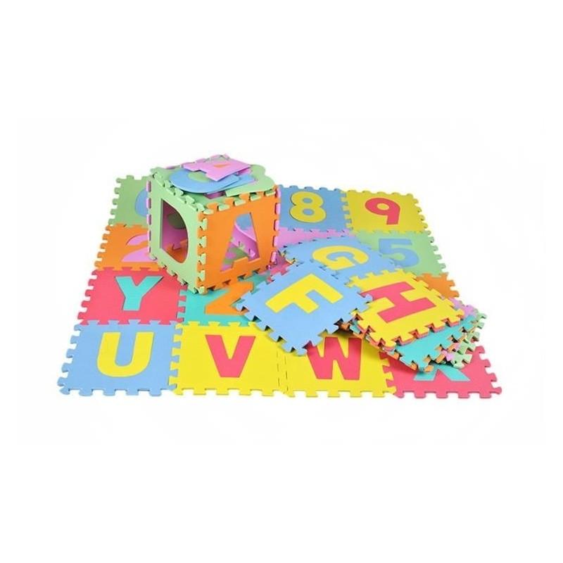 Puzzle piankowe 30x30cm 36el. P4693