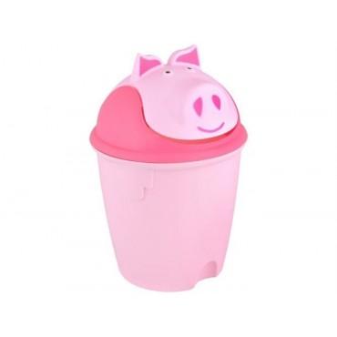 Kosz na śmieci - świnka